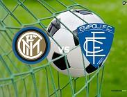 Inter Empoli streaming live gratis diretta