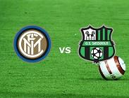 Inter Sassuolo live streaming