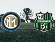 Streaming Inter Sassuolo diretta live gratis