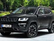 Nuova Jeep Compass ibrida