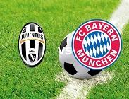 Juventus Bayern Monaco streaming live gratis diretta siti web, link. Dove vedere e come diretta live gratis