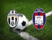 Juventus Crotone live streaming