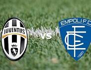 Streaming Juventus Empoli diretta live gratis