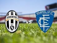 Juventus Empoli in streaming