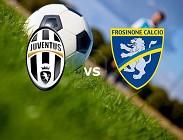Juventus Frosinone diretta Sky streaming Sky Go