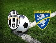 Juventus Frosinone streaming siti web Rojadirecta