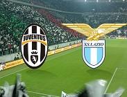 Juventus Lazio streaming con link bookmakers