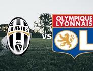 Juventus Lione streaming in chiaro diretta alternativa Premium, Canale 5 tv. Dove vedere, partita orari, probabile formazioni