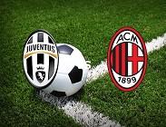 streaming Juventus Milan