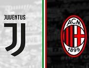 Juventus Milan streaming su siti web