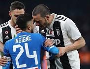Juventus Napoli sabato 31 agosto streaming