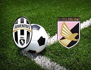 Juventus Palermo streaming live gratis link, siti web migliori. Dove vedere
