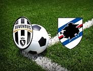 Juventus Sampdoria siti web e link streaming