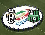 Juventus Sassuolo streaming (in tempo reale, in aggiornamento)