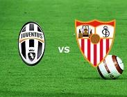 Juventus Siviglia streaming live diretta gratis. Vedere, dove su quali siti web e link. (AGGIORNAMENTO)