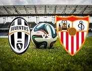 Juventus Siviglia streaming gratis live. Dove vedere siti web, link