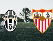 Juventus Siviglia streaming gratis live siti web, canali tv, link