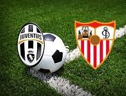 Juventus Siviglia streaming gratis live migliori siti web, link. Dove vedere