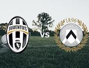 Juventus Udinese streaming gratis live. Vedere siti web, link