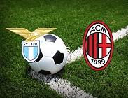 Lazio Milan streaming gratis live diretta. Dove vedere siti web, link migliori (AGGIORNAMENTO)