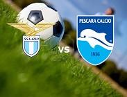 Pescara Lazio streaming live gratis. Dove vedere su link, siti web