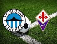 Slovan Liberec Fiorentina streaming live gratis per vedere link, canali tv, siti web