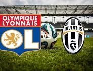 Lione Juventus streaming live gratis migliori siti web, link. Dove vedere