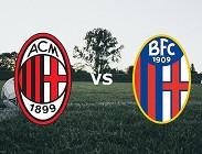 streaming Milan Bologna