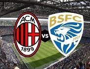 Streaming Milan Brescia diretta
