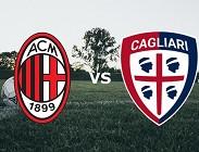 Diretta Serie A Milan Cagliari