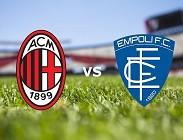 Milan Empoli in streaming