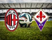 Milan Fiorentina streaming gratis live diretta link, siti web. Dove vedere