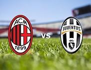 Milan Juventus streaming link. Dove vedere gratis
