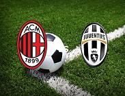 Milan Juventus streaming live gratis. Vedere link, siti web