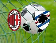 streaming Milan Sampdoria