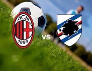 Milan Sampdoria streaming