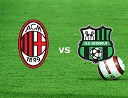 Milan Sassuolo siti web e link streaming