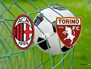 Milan Torino streaming live gratis 0 - 0 dopo 18 minuti (AGGIORNAMENTO LIVE)