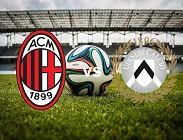 Milan Udinese streaming gratis live per vedere su siti web, canali tv migliori, link