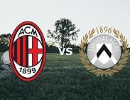 Milan Udinese streaming gratis live migliori siti web, link. Dove vedere (aggiornamento)