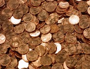 Monetine da 1-2 centesimi mancano