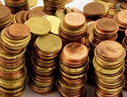 Monetine centesimi denaro virtuale