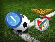 Napoli Benfica streaming. Dove vedere (aggiornamento)