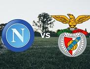 Napoli Benfica vedere streaming live diretta gratis. Dove e come vederla