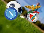 Streaming Napoli Benfica live gratis diretta. Dove vedere