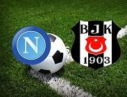 Napoli Besiktas streaming gratis live. Dove vedere siti web, link