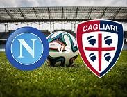 Napoli Cagliari link siti web Rojadirecta diretta