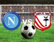 Napoli Carpi streaming streaming gratis dopo streaming scorsa diretta