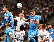 Napoli Dinamo Kiev streaming. Dove vedere (aggiornamento)