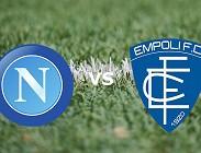 Napoli Empoli streaming gratis live. Vedere link, siti web